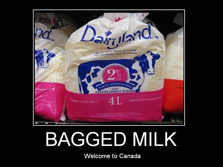 Bagged-milk